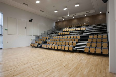 11. Ombler Williams Ltd Gallery: Deeside post 16 education centre lecture hall 2016 043