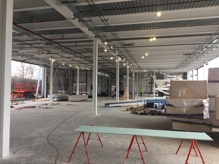 3. Ombler Williams Ltd Gallery: Cambria College internal frame 1