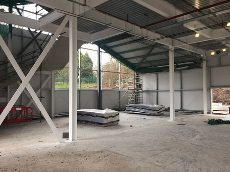 5. Ombler Williams Ltd Gallery: Cambria College internal frame 2