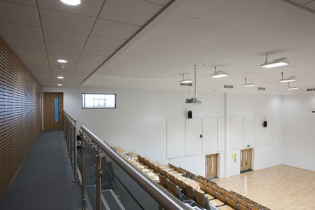 10. Ombler Williams Ltd Gallery: Deeside post 16 education centre lecture hall 2016 039
